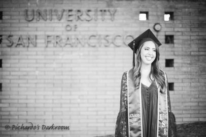 University of San Francisco graduation photo