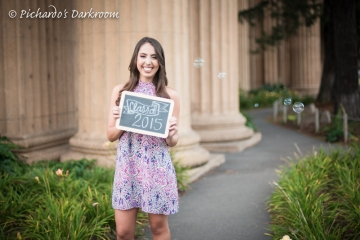University of San Francisco graduation photo